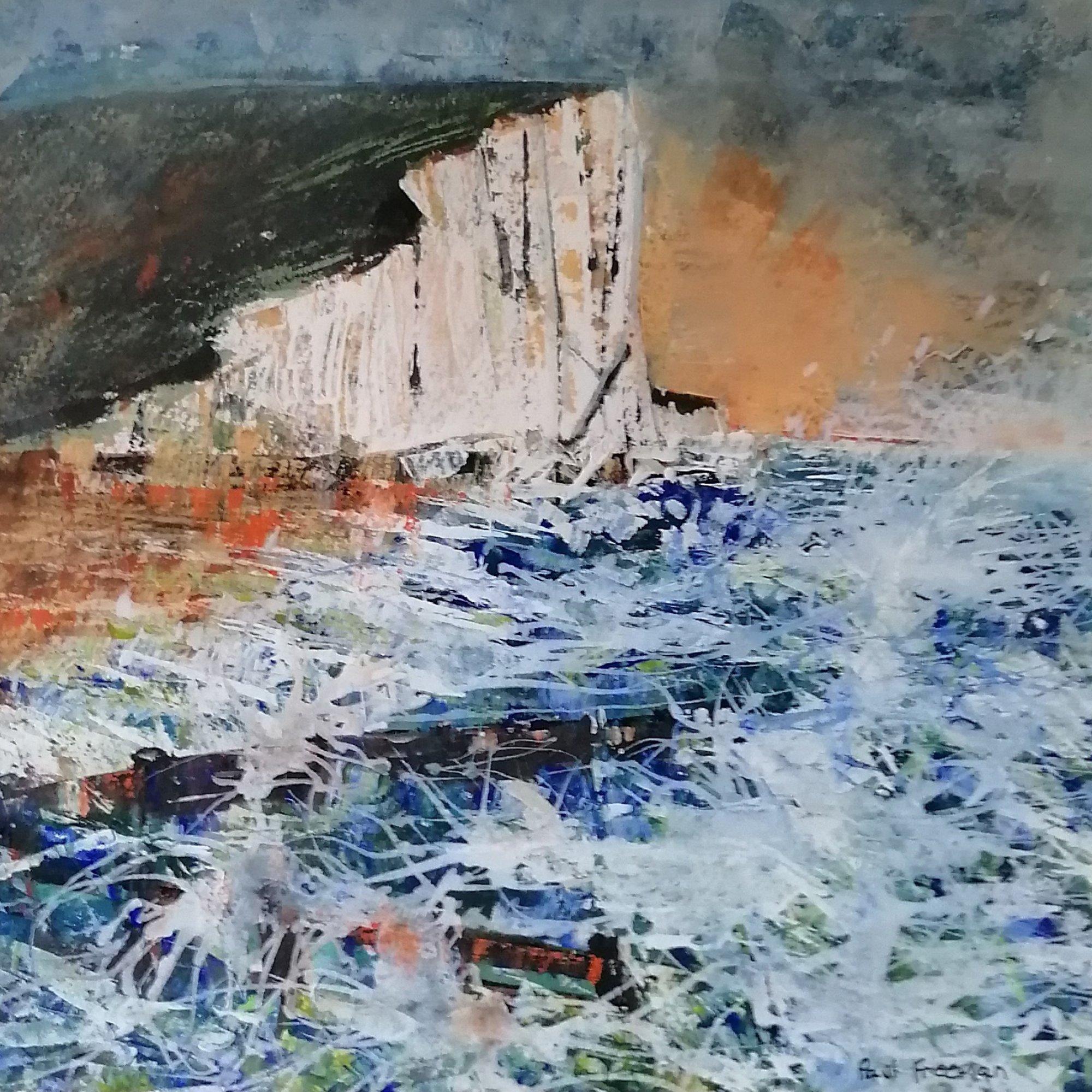 Storms Haven Original Landscape Art