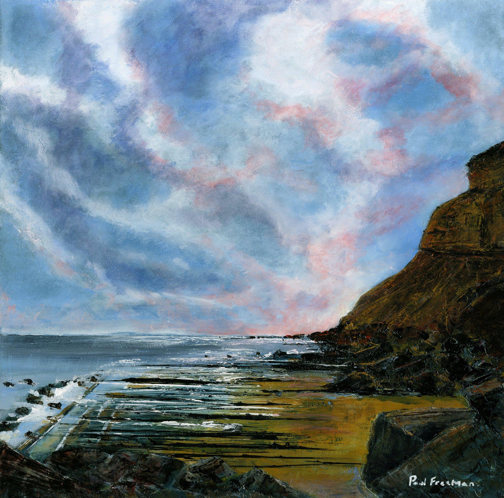 Abbey Cliff Original Landscape Art