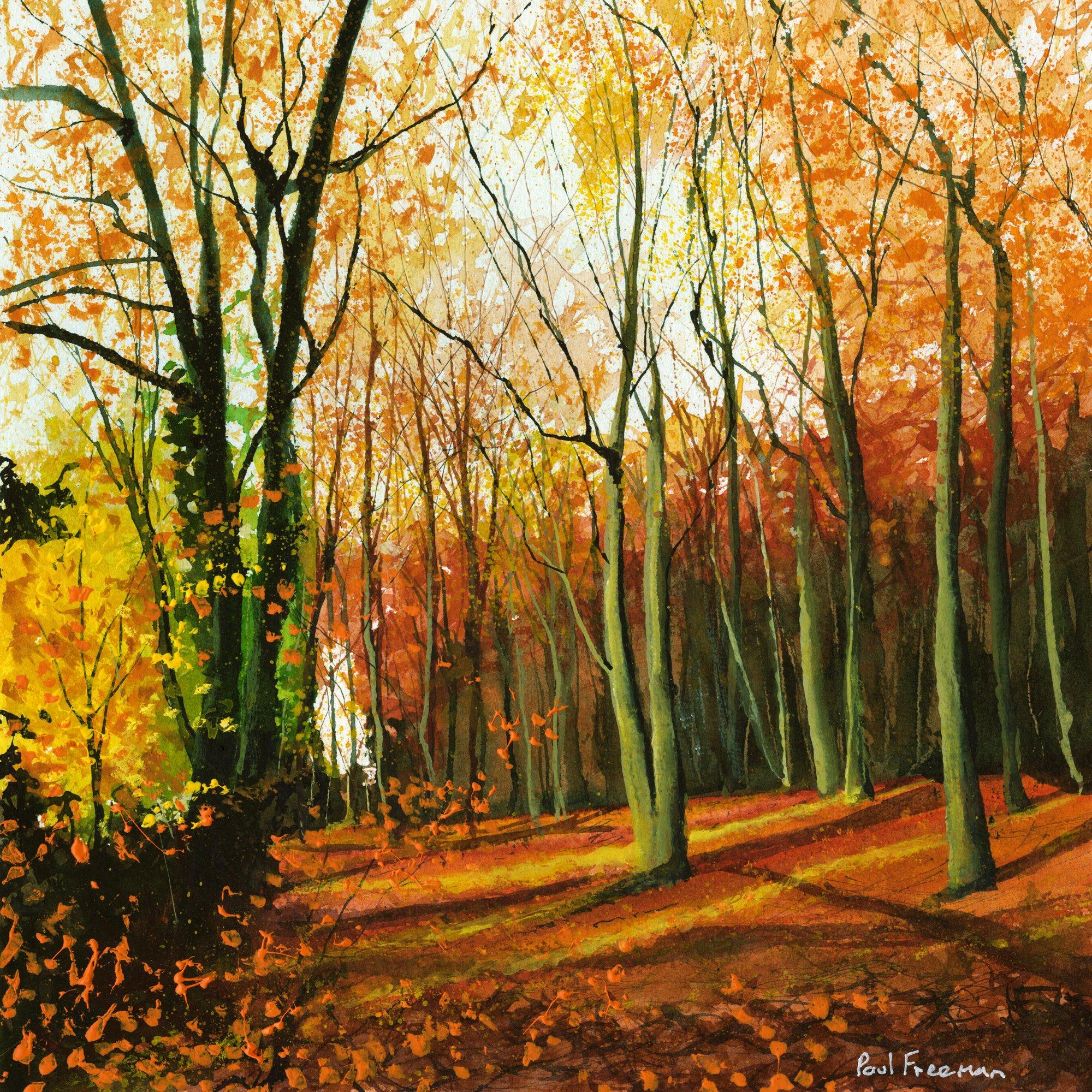 Autumn Original Landscape Art