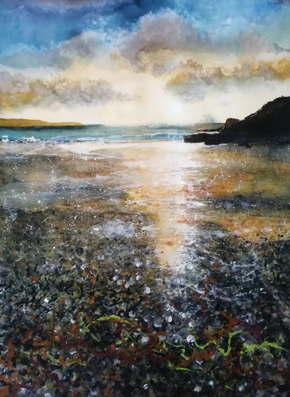 Clearing Storm Original Landscape Art