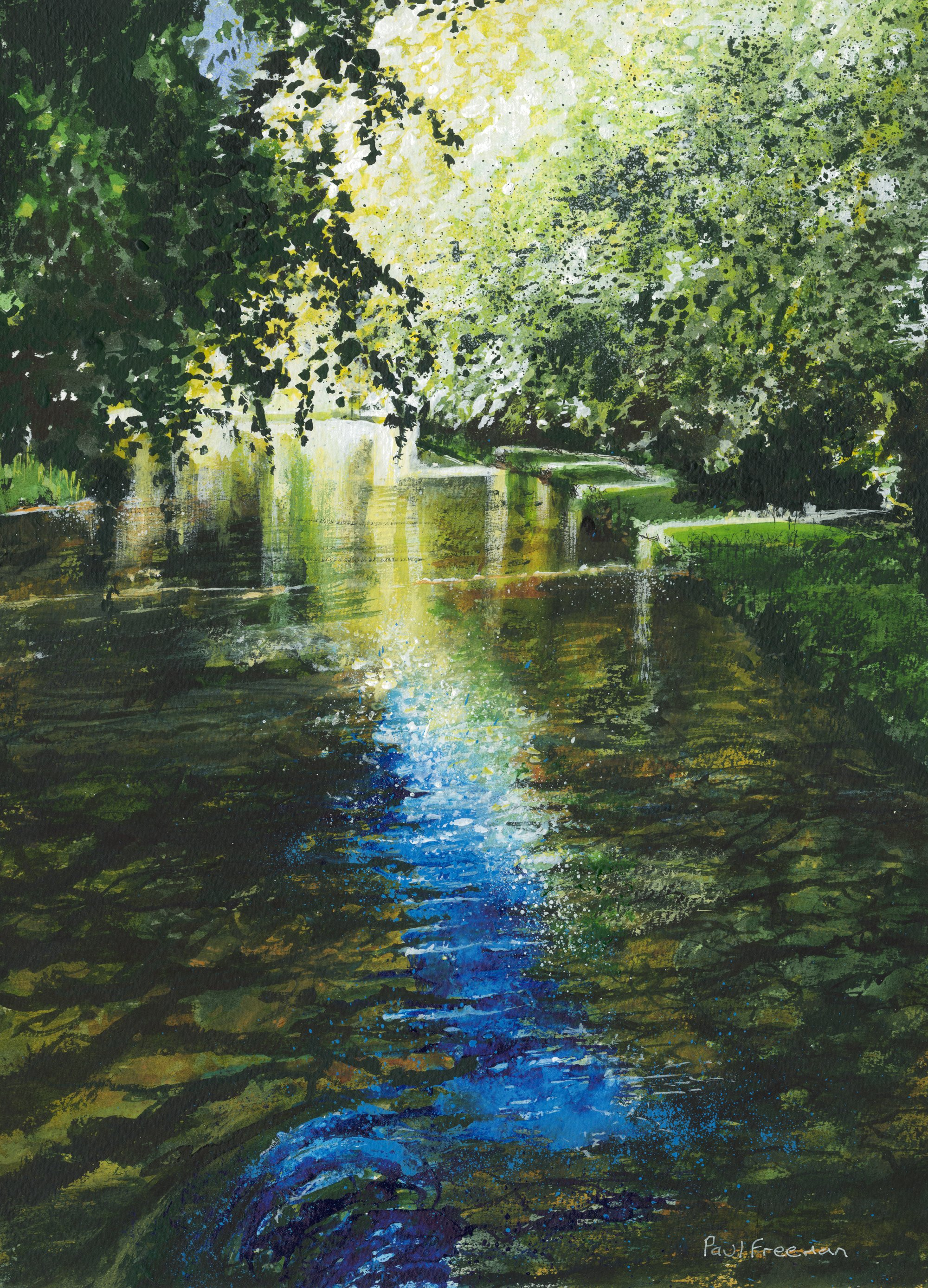 The River Test Original Landscape Art
