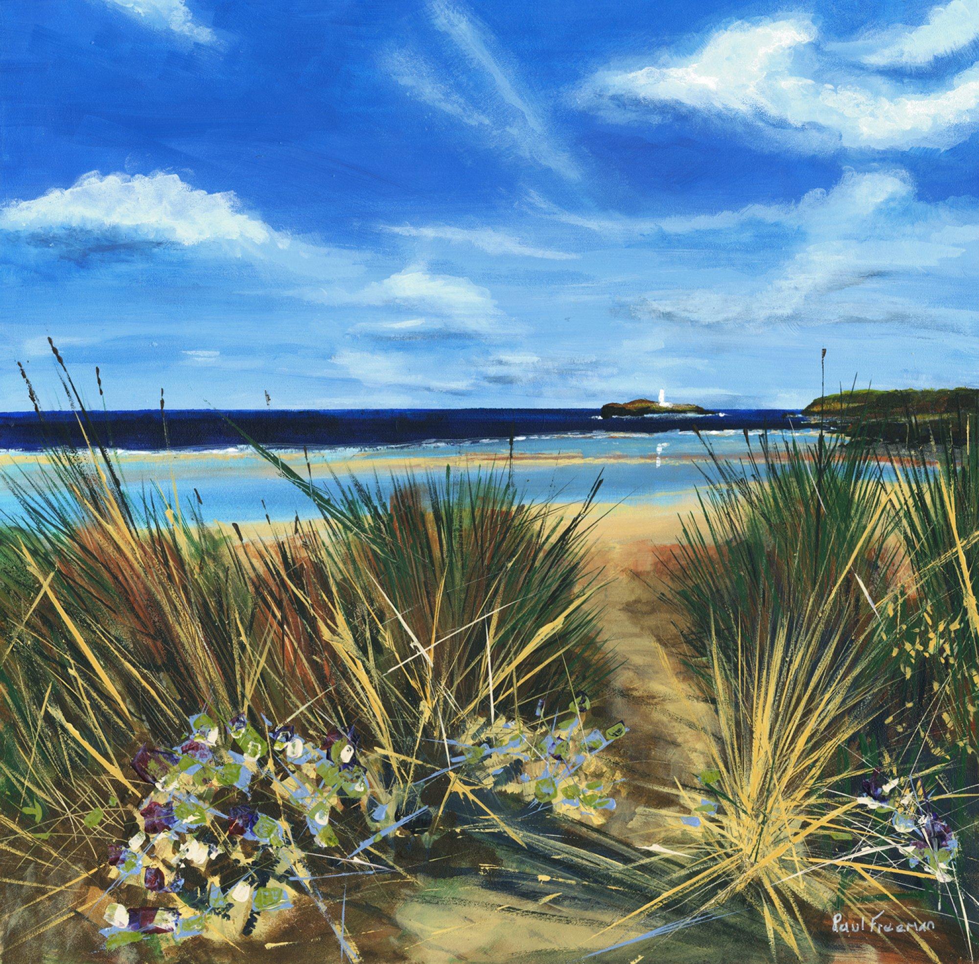 Through the Dunes Original Landscape Art