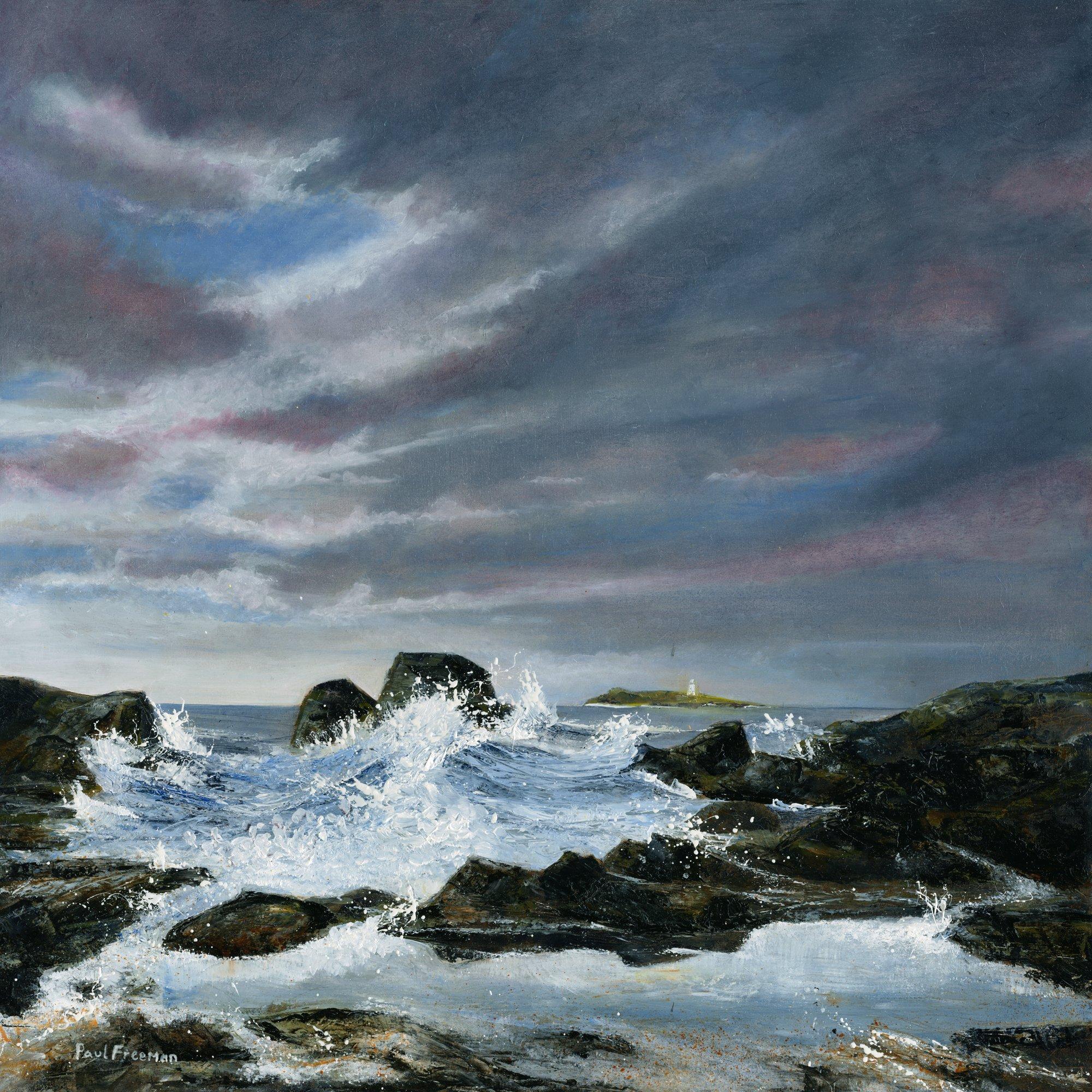 memory of the sea Original Landscape Art