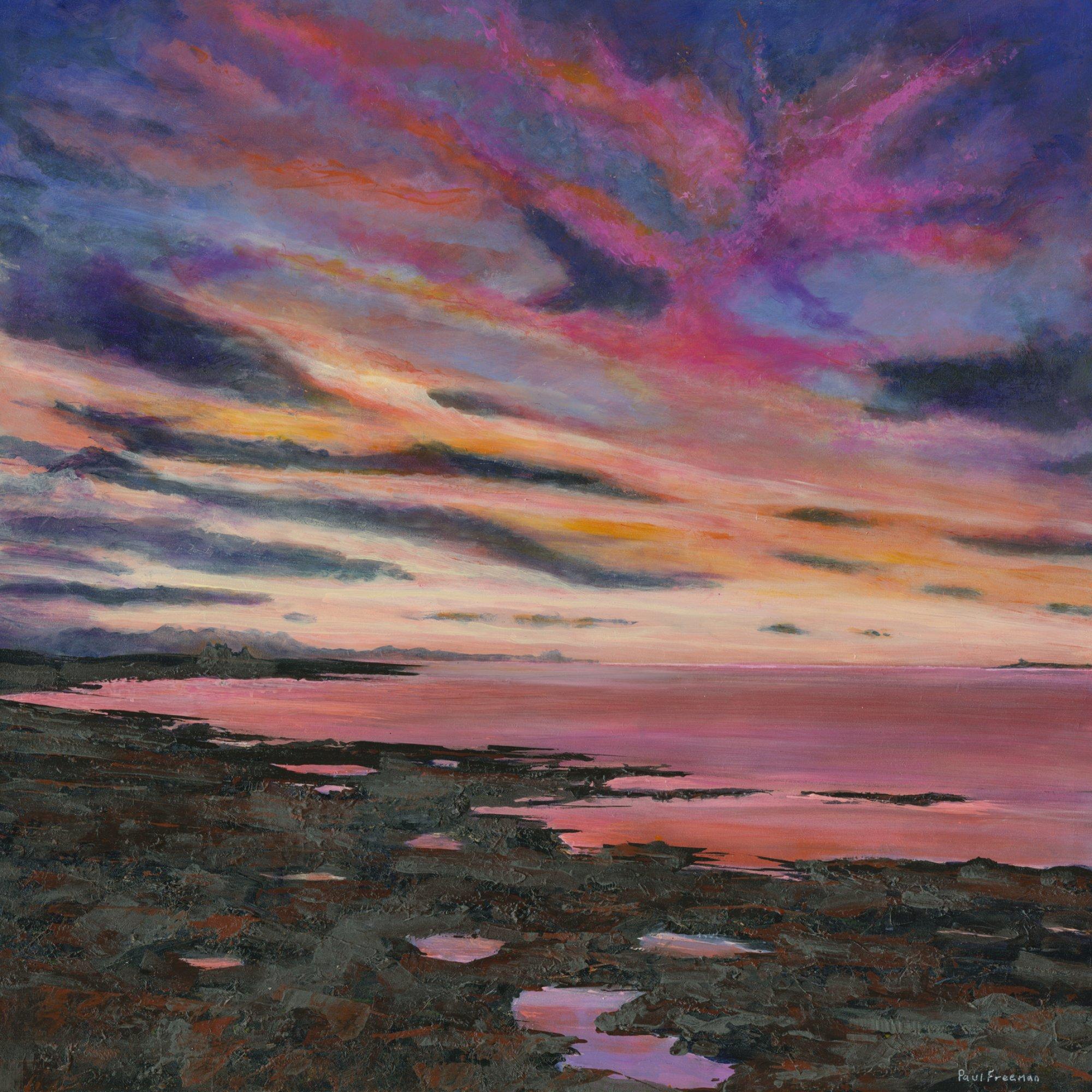 Uthred is coming home Original Landscape Art