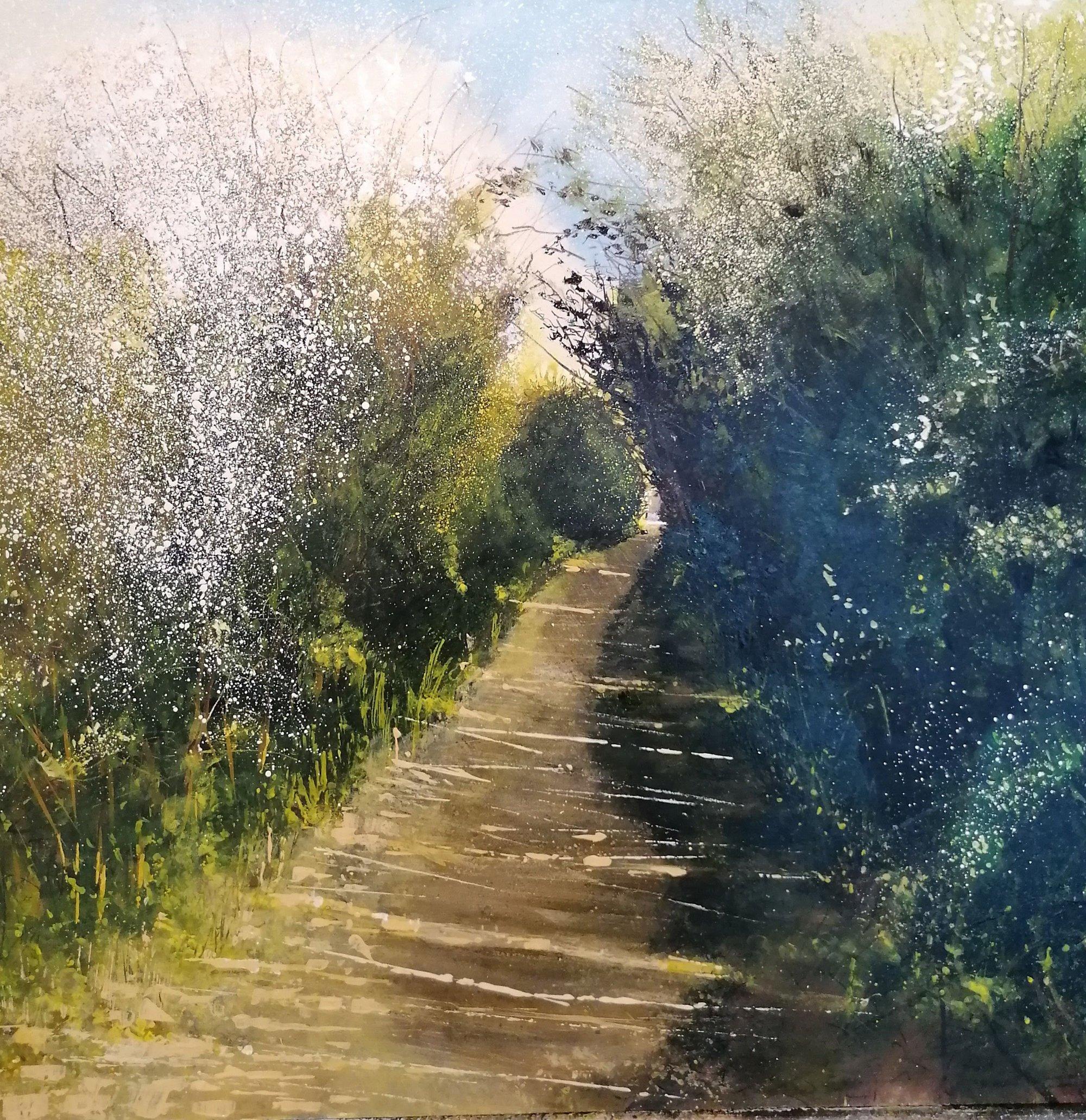 as a child Original Landscape Art