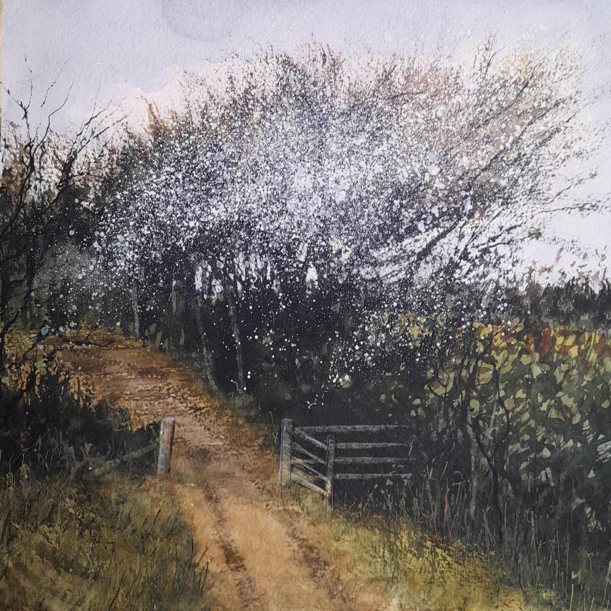 before hope fields Original Landscape Art