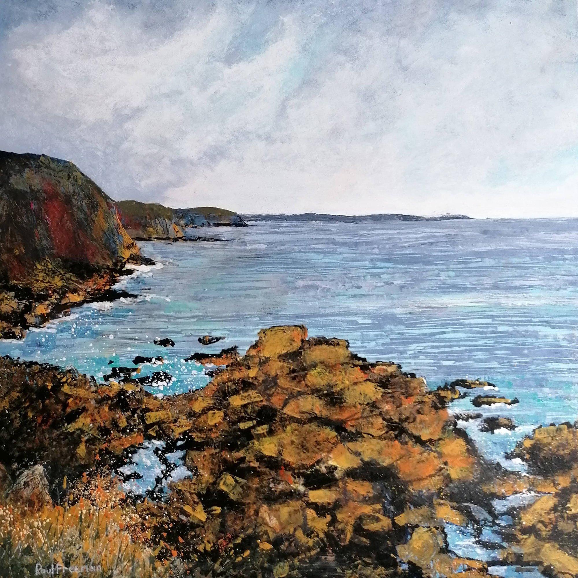 Cape Cornwall Original Landscape Art
