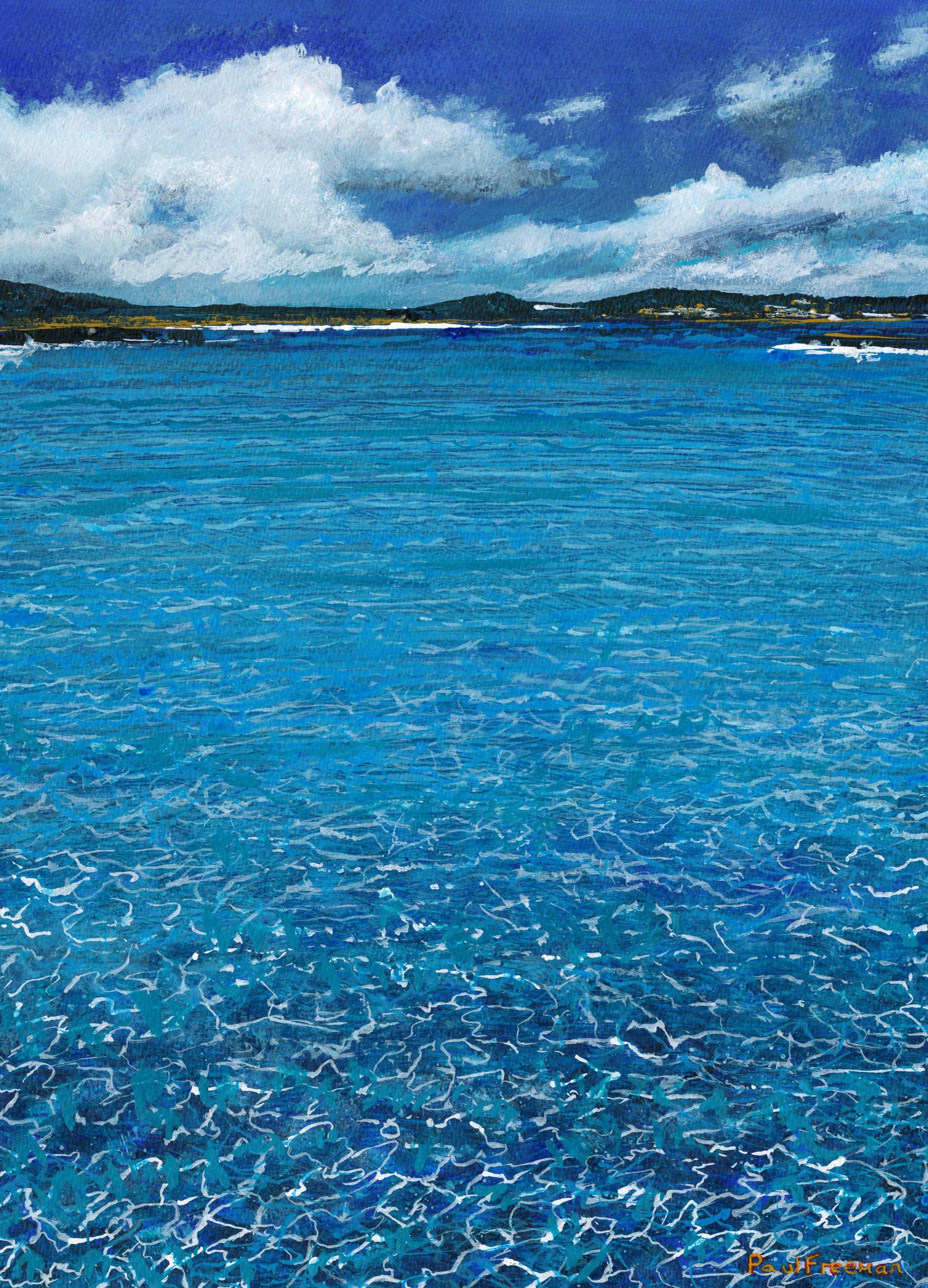 Clear Water Original Landscape Art