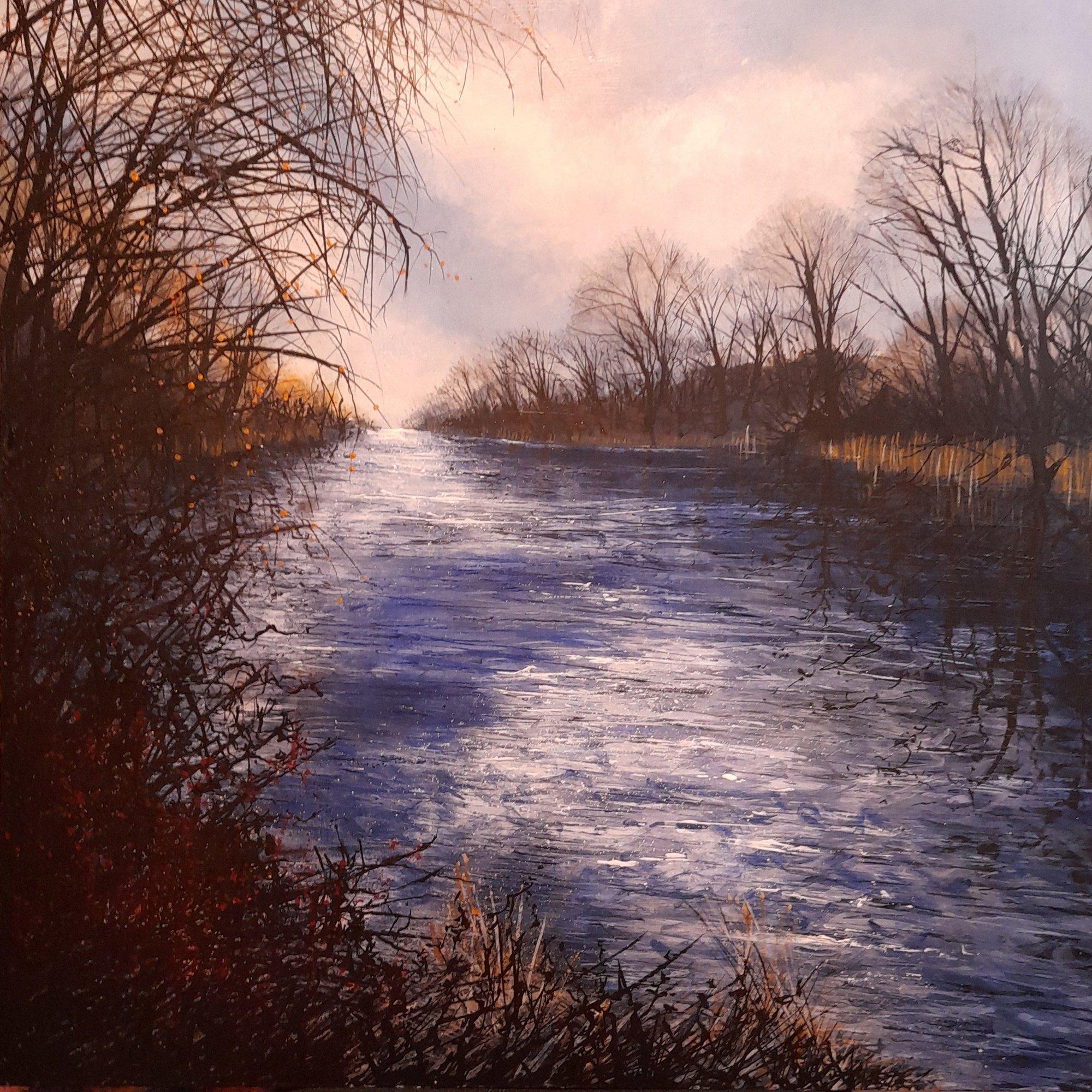 January River Original Landscape Art