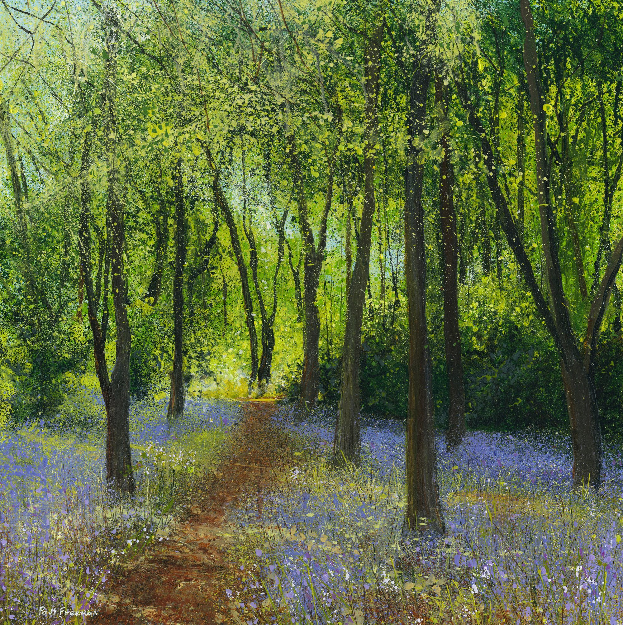 perfect day Original Landscape Art