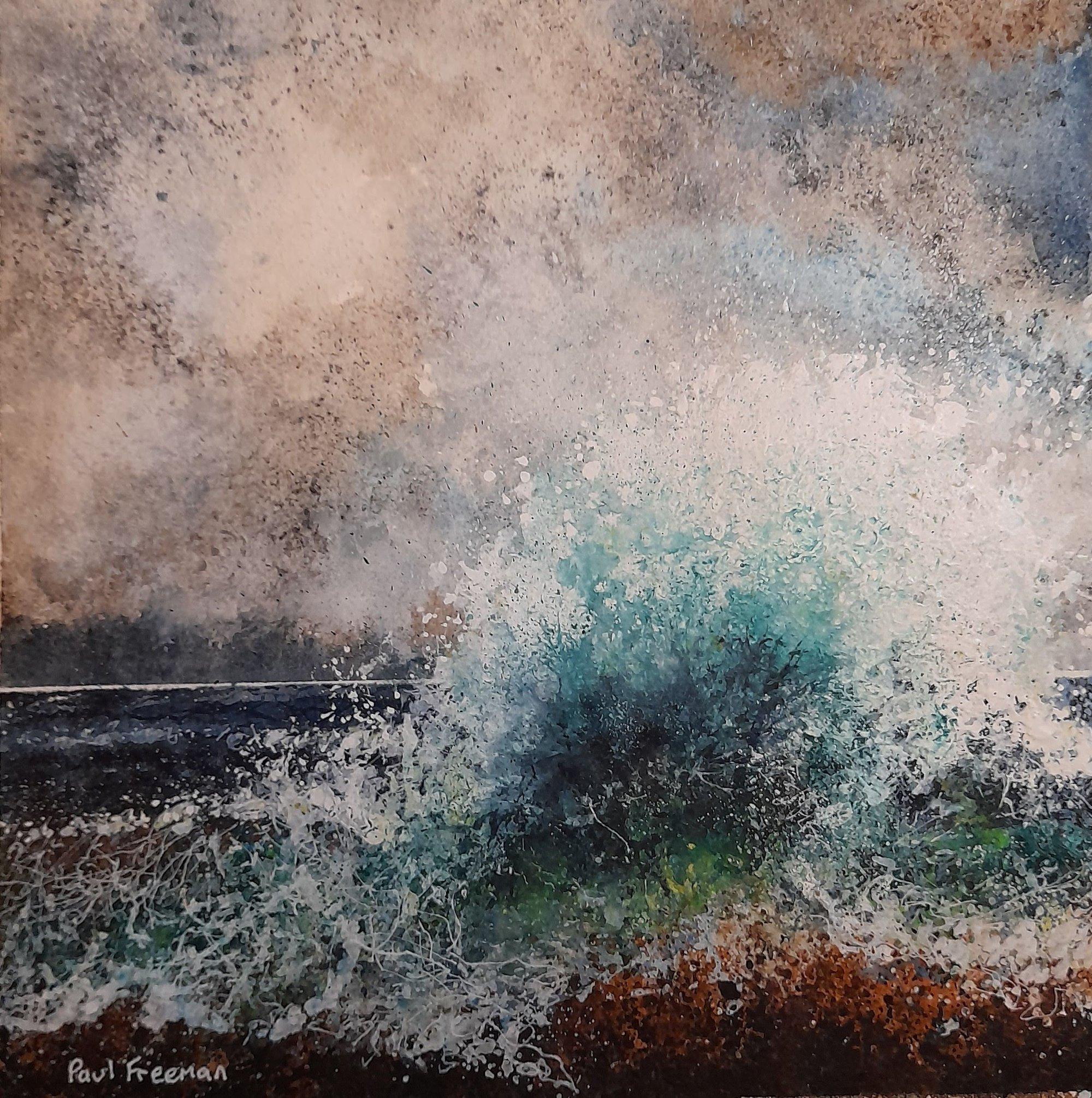 Seaspray Original Landscape Art
