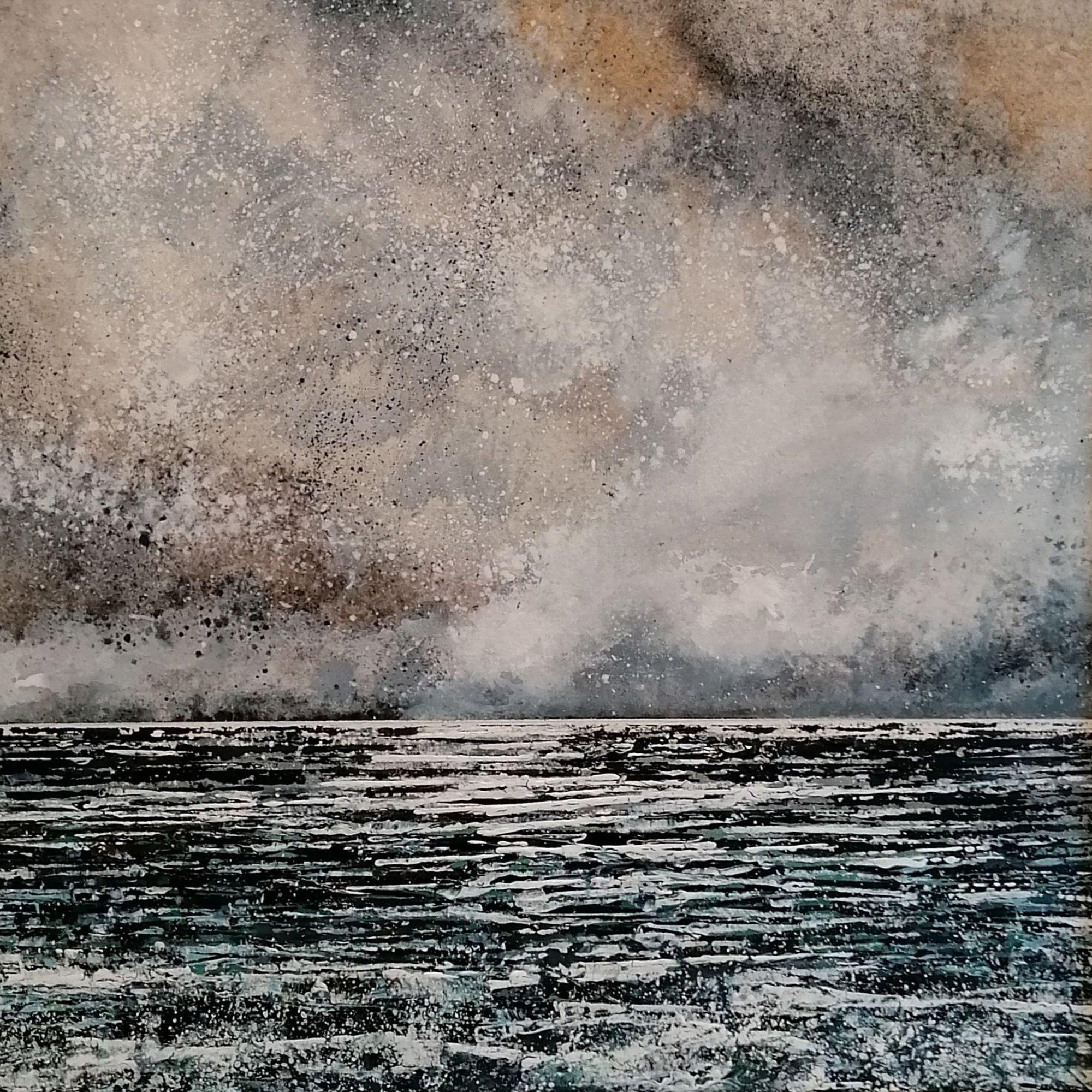 winter sea Original Landscape Art